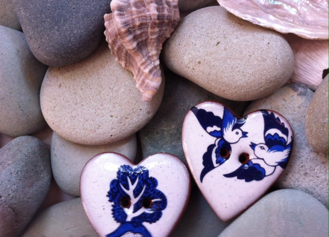 Hearts on the beach © 2015 Daphne C Alexopoulou